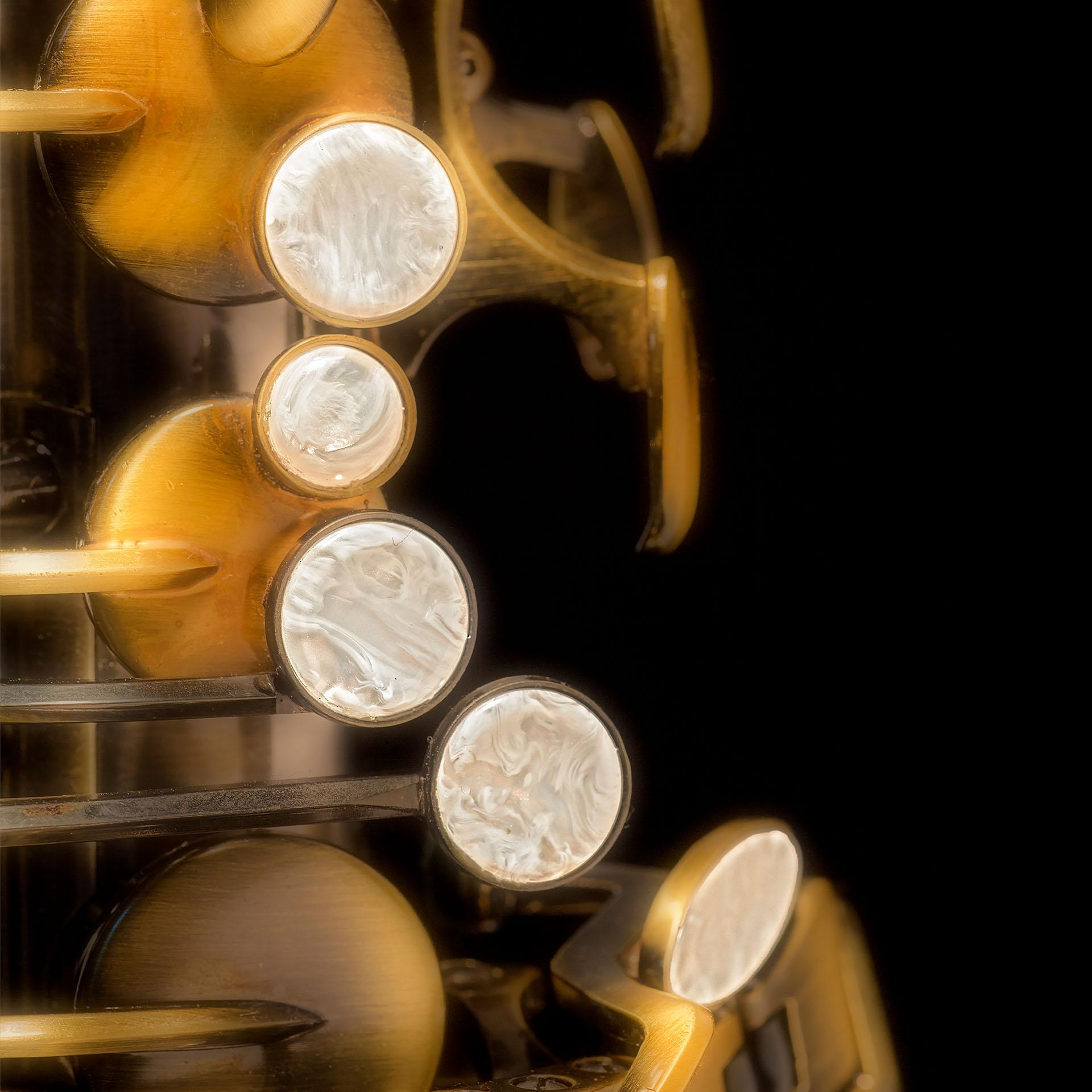 Kleinhempel Media Services Produktfoto Saxophon, Detailaufnahme