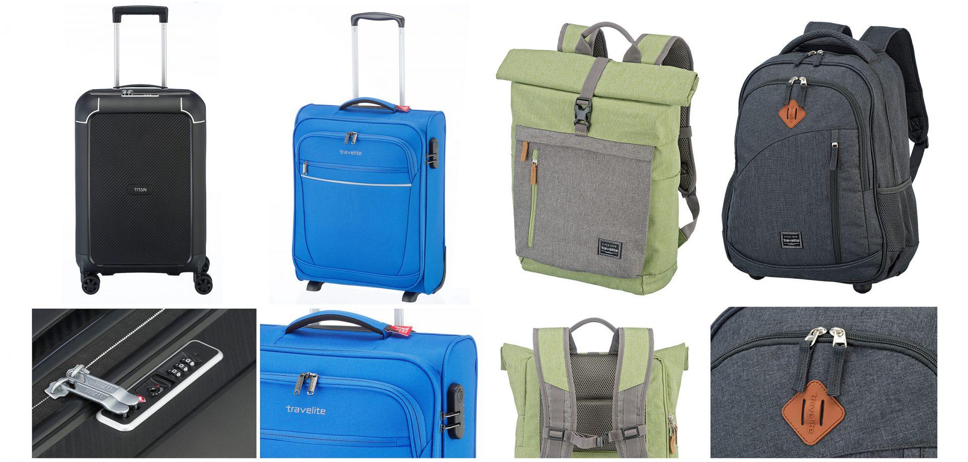 Kleinhempel Media Services Produktfotos verschiedener Trolleys und Taschen