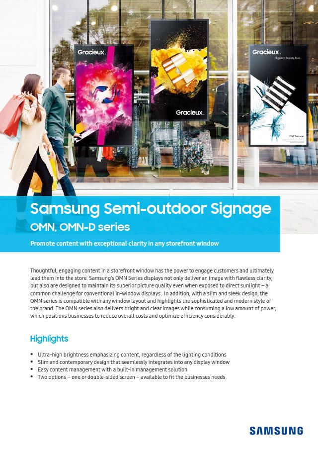 PDF-Vorschau für Samsung-Schaufensterdisplays