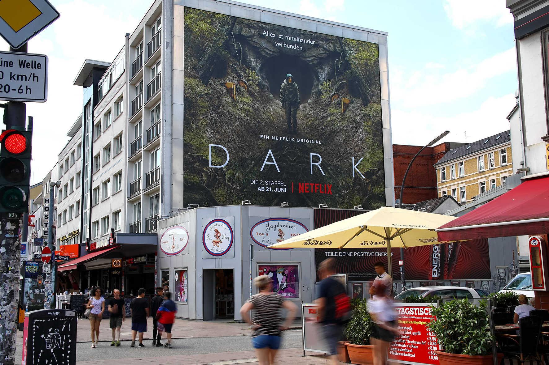 Großformatdruck für Netflix in Hamburg