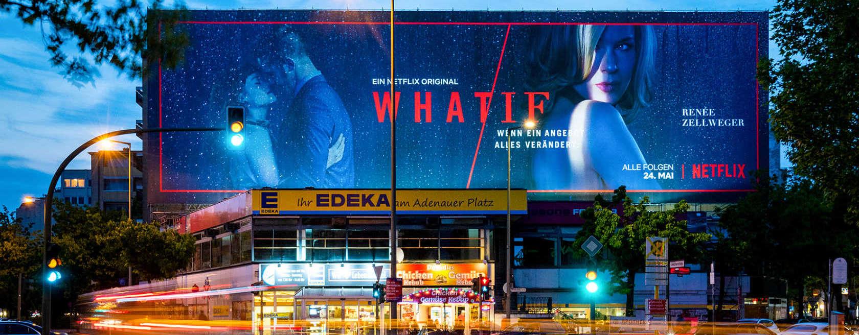 Großformatdruck für Netflix in Berlin