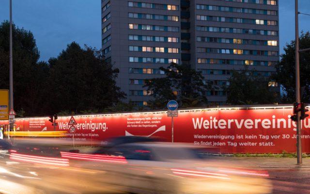 Coca-Cola Riesenposter in Berlin